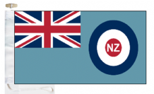 New Zealand Air Force RNZAF Ensign Courtesy Boat Flags (Roped and Toggled)